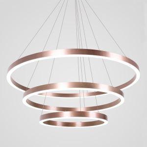 LEDペンダントライト 照明器具 リビング照明 店舗照明 ダイニング照明 オシャレ 北欧風 3輪 銅色 LED対応 LBY18059