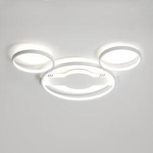 LEDシーリングライト リビング照明 子供屋照明 照明器具 寝室照明 オシャレ 6畳 ミッキーマウス型 LED対応 LBY18066