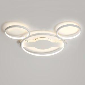 LEDシーリングライト リビング照明 子供屋照明 照明器具 寝室照明 オシャレ 8畳 ミッキーマウス型 LED対応 LBY18067