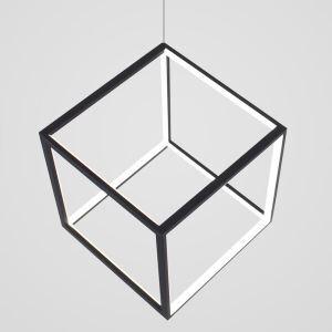 LEDペンダントライト 照明器具 リビング照明 ダイニング照明 店舗照明 オシャレ 北欧風 立方体 黒色 LED対応 LBY18069