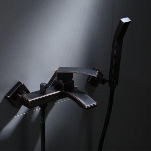 浴室シャワー水栓 バス水栓 ハンドシャワー 混合水栓 水道蛇口 蛇口付き 風呂用 ORB