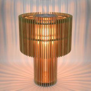 テーブルランプ スタンドライト 照明器具 卓上照明 テーブルライト リビング 寝室 北欧風 原木 1灯