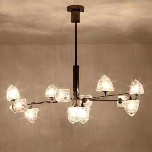 LEDシャンデリア リビング照明 寝室照明 桃型 北欧風 5/7/9/11/13灯 LED対応