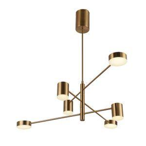 LEDシャンデリア リビング照明 ダイニング照明 寝室照明 北欧風 3色 6灯 LED対応