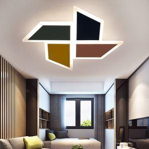 LEDシーリングライト 照明器具 リビング照明 寝室照明 子供屋照明 オシャレ 風車型 5畳/6畳 LED対応 FMS6117