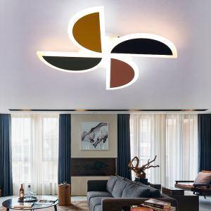 LEDシーリングライト 照明器具 リビング照明 寝室照明 子供屋照明 オシャレ 風車型 5畳 LED対応 FMS6116