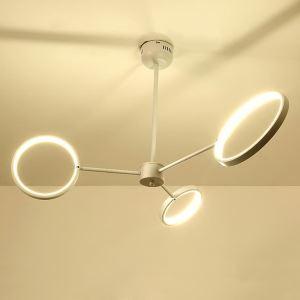 LEDシャンデリア リビング照明 寝室照明 オシャレ 2色 3輪/6輪