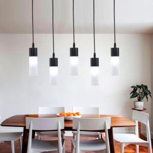 LEDペンダントライト 照明器具 リビング照明 ダイニング照明 店舗照明 黒色 北欧風 LED対応 1灯 QM85051