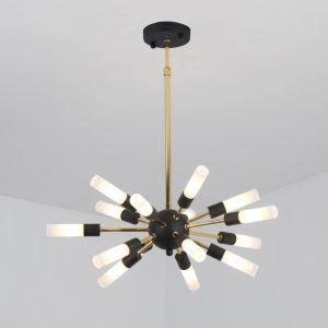 LEDペンダントライト 照明器具 リビング照明 ダイニング照明 寝室照明 放射状 北欧風 LED対応 15灯 QM8509