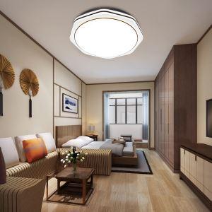 LEDシーリングライト リビング照明 取付簡単 ダイニング照明 寝室照明 照明器具 10段階調光 常夜灯 リモコン付 8畳 丸型 36W D40cm 八角形型