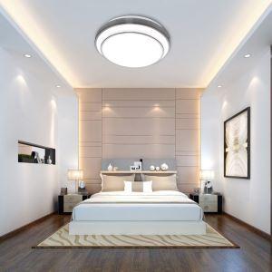 LEDシーリングライト リビング照明 取付簡単 ダイニング照明 寝室照明 照明器具 10段階調光 常夜灯 リモコン付 8畳 丸型 36W D40cm 2層