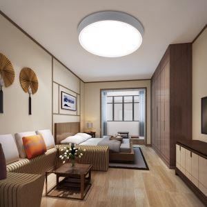 LEDシーリングライト リビング照明 取付簡単 ダイニング照明 寝室照明 照明器具 10段階調光 常夜灯 リモコン付 8畳 丸型 36W D40cm 白色