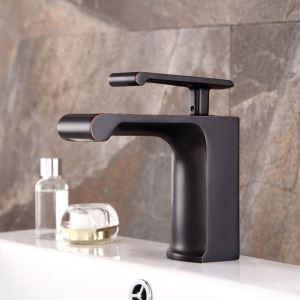 洗面蛇口 バス水栓 冷熱混合栓 立水栓 水道蛇口 滝状吐水式 ORB