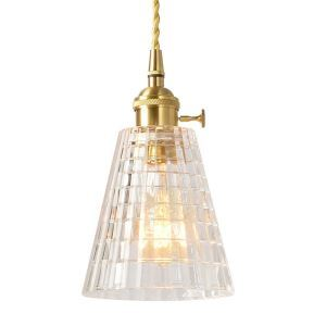 ペンダントライト リビング照明 ダイニング照明 玄関照明 店舗照明 ガラス 北欧風 6畳8畳 つまみスイッチ付 1灯 PL7001