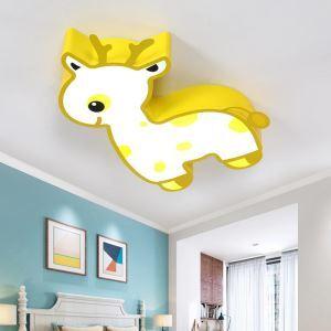 LEDシーリングライト 照明器具 子供屋照明 寝室 リビング 居間 オシャレ キリン型 LED対応 MSXD089