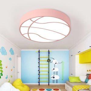 LEDシーリングライト 照明器具 子供屋照明 寝室 リビング 居間 オシャレ バスケットボール型 LED対応 MSXD048
