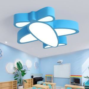 LEDシーリングライト 照明器具 子供屋照明 寝室 リビング 居間 オシャレ 飛行機型 LED対応 MSXD041