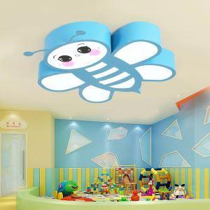 LEDシーリングライト 照明器具 子供屋照明 寝室 リビング 居間 オシャレ ミツバチ型 LED対応 MSXD049