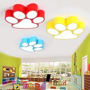 LEDシーリングライト 照明器具 子供屋照明 寝室 リビング 居間 オシャレ 犬の爪型 LED対応 MSXD010