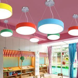 LEDペンダントライト 照明器具 子供屋照明 リビング照明 天井照明 円形 LED対応 MSXD003