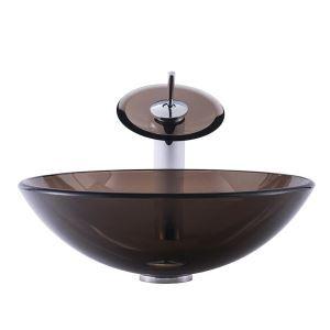 洗面ボウル&蛇口セット 手洗い鉢 洗面器 手洗器 洗面ボール 排水金具付 オシャレ 丸型 BWY19048