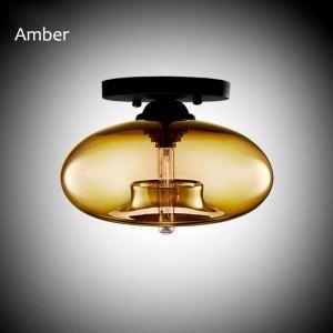 シーリングライト 照明器具 天井照明 玄関 店舗 ガラス製 北欧風 オシャレ 水槽型 1灯