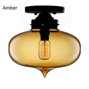 シーリングライト 照明器具 天井照明 玄関 店舗 ガラス製 北欧風 オシャレ 尖塔型 1灯