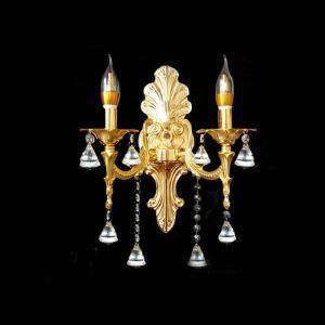 壁掛け照明 ウォールランプ 照明器具 ブラケット 玄関照明 クリスタル オシャレ 2灯 D2151