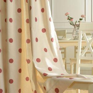 遮光カーテン オーダーカーテン 捺染 ドット柄 北欧風 子供屋 リビング オシャレ(1枚)