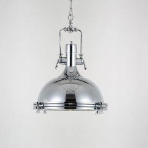 ペンダントライト 工業照明 天井照明 玄関照明 照明器具 クロム 1灯 CYDD088