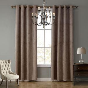 遮光カーテン 既製カーテン 遮熱 防炎 純色 北欧風 ディアスキン お得サイズ 3級遮光(2枚)