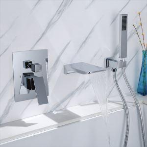 浴室シャワー水栓 バス水栓 ハンドシャワー 混合水栓 水道蛇口 蛇口付き 風呂用 3色