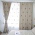 遮光カーテン オーダーカーテン 子供屋 寝室 オシャレ 刺繍 猫柄(1枚)