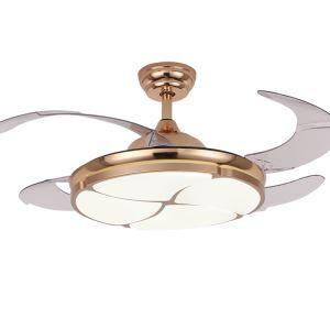 LEDシーリングファンライト リビング照明 ダイニング照明 照明器具 天井照明 3階段調色 LED対応 リモコン付 QM8167