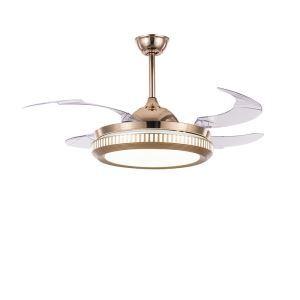 LEDシーリングファンライト リビング照明 ダイニング照明 照明器具 天井照明 3階段調色 LED対応 リモコン付 QM8138