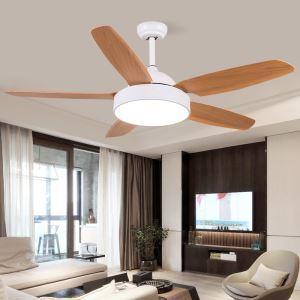 LEDシーリングファンライト リビング照明 ダイニング照明 照明器具 天井照明 3階段調色 LED対応 リモコン付 QM1102