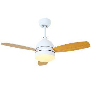 LEDシーリングファンライト リビング照明 ダイニング照明 天井照明 2階段調色 LED対応 リモコン付 QM1105