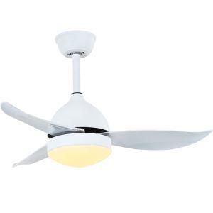 LEDシーリングファンライト リビング照明 ダイニング照明 照明器具 天井照明 3階段調色 LED対応 リモコン付 QM1106