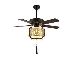 シーリングファンライト リビング照明 ダイニング照明 照明器具 天井照明 子供屋照明 和風和室 リモコン付 3灯 QM8052