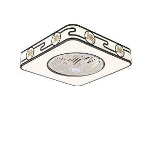 LEDシーリングファンライト リビング照明 ダイニング照明 照明器具 寝室 書斎 店舗 8畳10畳 3階段調色 リモコン付 LED対応 QM8031