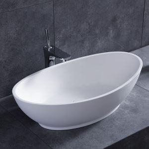 洗面ボール 手洗い鉢 洗面器 洗面ボウル 人造石 排水栓&排水トラップ付 元宝型 置き型 オシャレ 55*34*17.2cm M8306