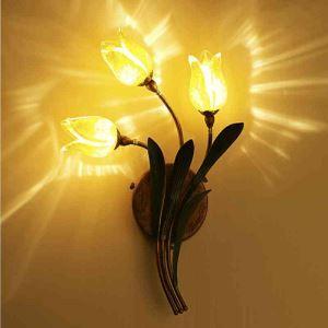 LED壁掛け照明 ブラケット 間接照明 ウォールランプ 玄関照明 瑠璃 北欧風 チューリップ 3灯 LED対応 RI008