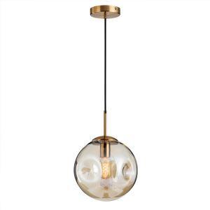ペンダントライト リビング照明 ダイニング照明 寝室 玄関 廊下 店舗 ガラス 6畳8畳 ボール型 北欧風 2色 1灯 LZ142
