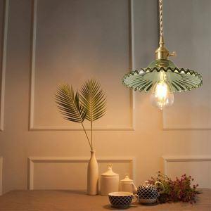 ペンダントライト リビング照明 ダイニング照明 寝室照明 玄関照明 ガラス 6畳8畳 洋風 つまみスイッチ付 5色 1灯 LZ53
