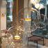 LEDペンダントライト 照明器具 ダイニング照明 リビング照明 店舗 寝室 玄関 ミッキー型 ガラス オシャレ LED対応