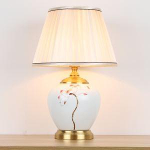 テーブルランプ スタンドライト 間接照明 デスクライト 陶器照明 リビング 寝室 書斎 玄関 オシャレ 1灯 HY050