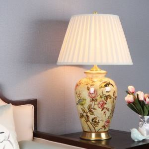 テーブルランプ スタンドライト 間接照明 デスクライト 陶器照明 リビング 寝室 書斎 玄関 オシャレ 1灯 HY060