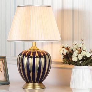 テーブルランプ スタンドライト 間接照明 デスクライト 陶器照明 リビング 寝室 書斎 玄関 オシャレ 1灯 HY111