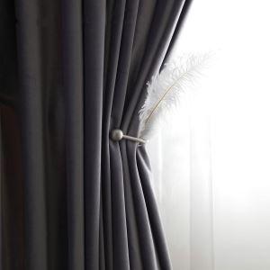 遮光カーテン オーダーカーテン 無地 高遮光 断熱 厚地 寝室 リビング 北欧風 1級遮光カーテン(1枚)