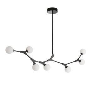 シャンデリア リビング照明 ダイニング 寝室 店舗 北欧風 分子型 魔豆型
